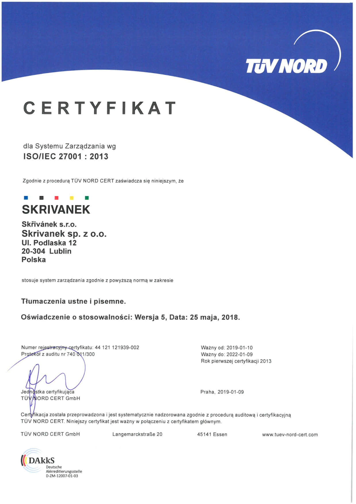 ISO 27001 PL