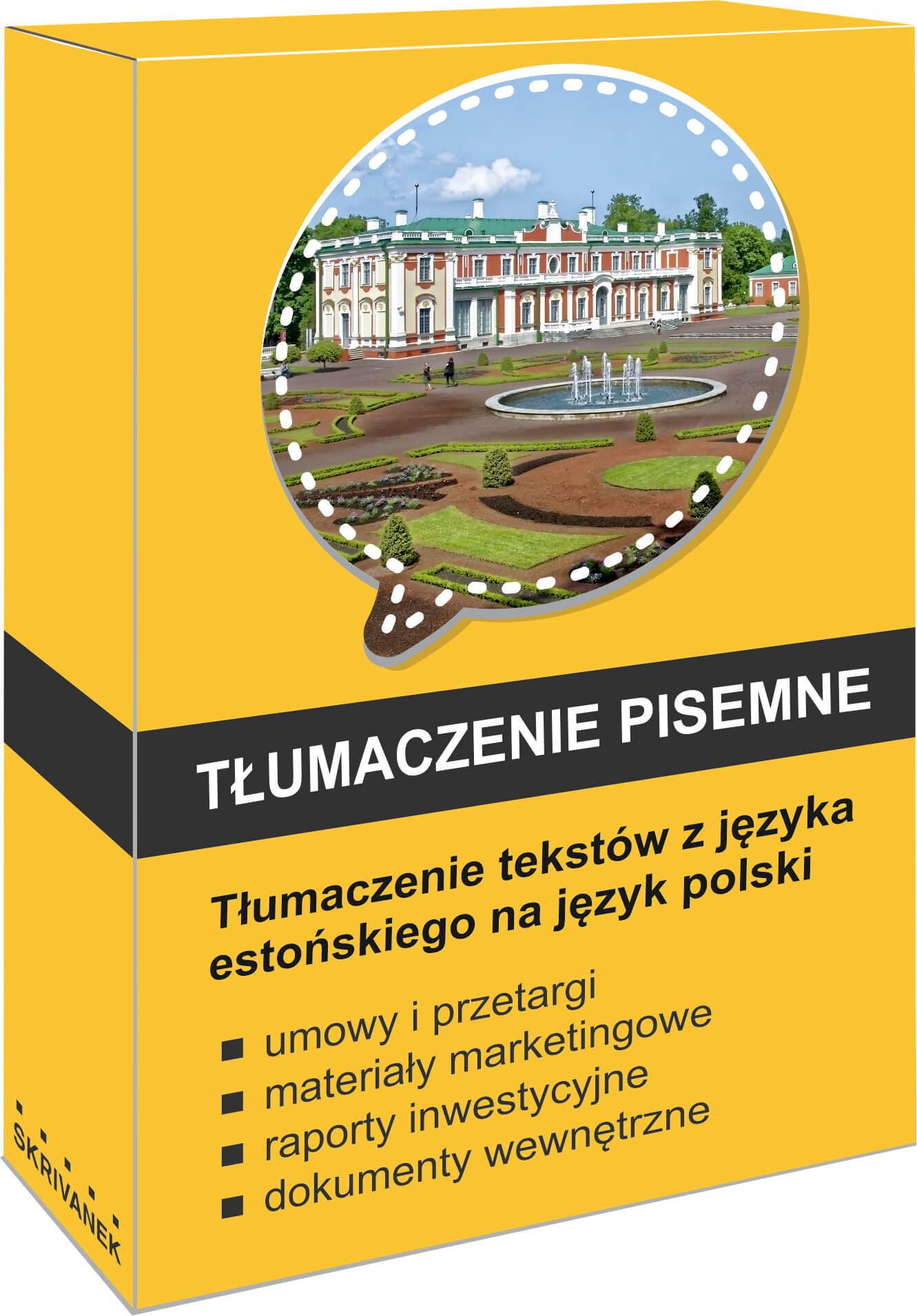 tłumacz języka estońskiego