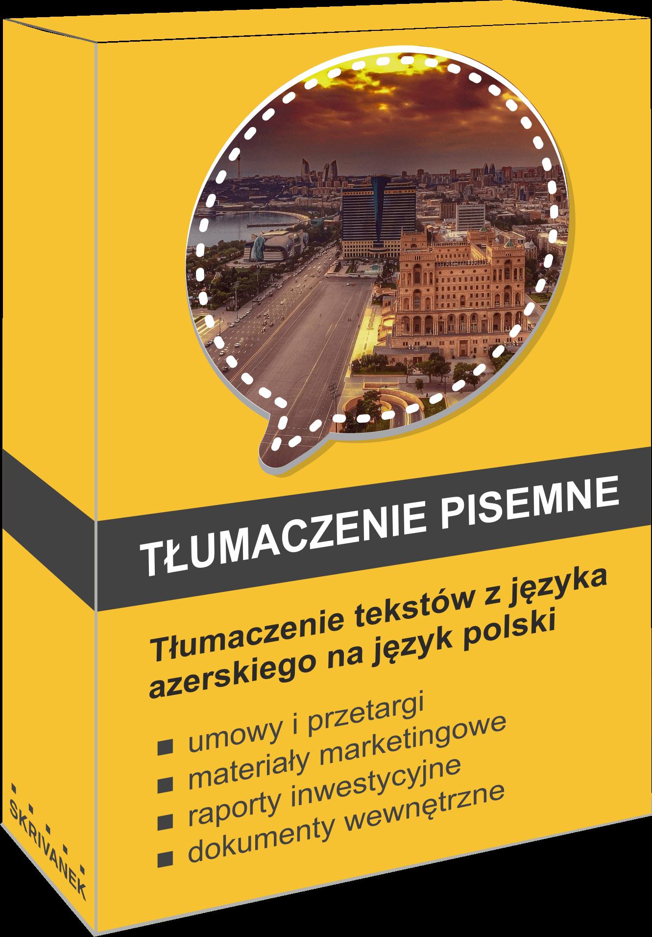 tłumacz języka azerskiego