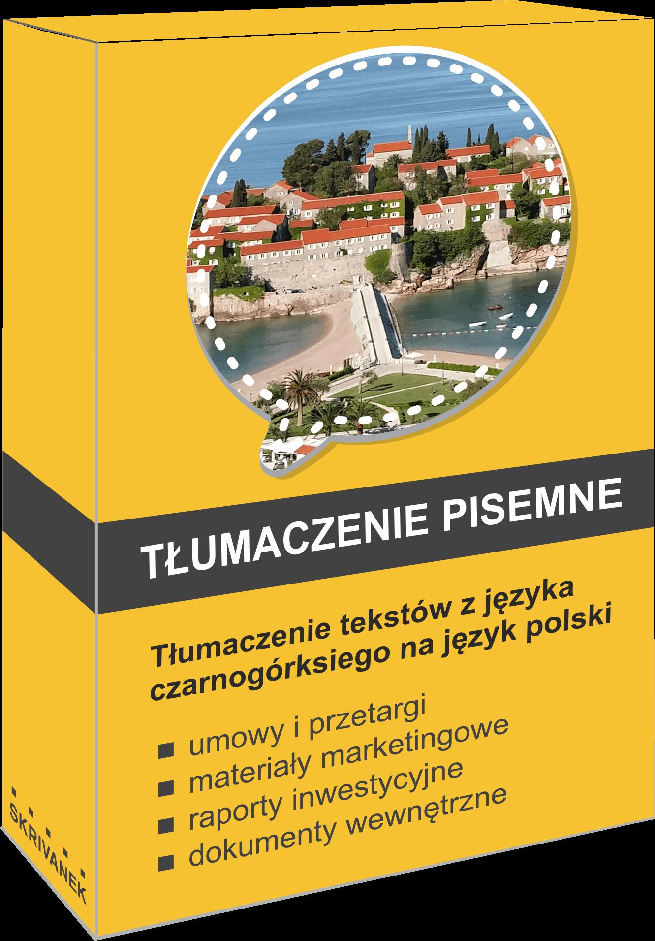 tłumacz języka czarnogórskiego